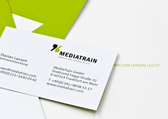 MediaTrain, Corporate Design